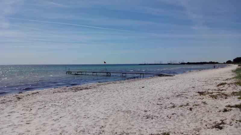 Strand in Dänemerk 50km vor Kopenhagen