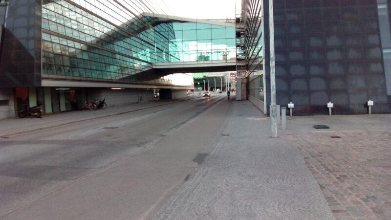 Radwege an Nebenstraße